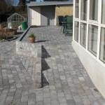 Støttemur og terrasse Sydbakken 27 Harlev J (1)