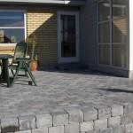 Støttemur og terrasse Sydbakken 27 Harlev J (2)
